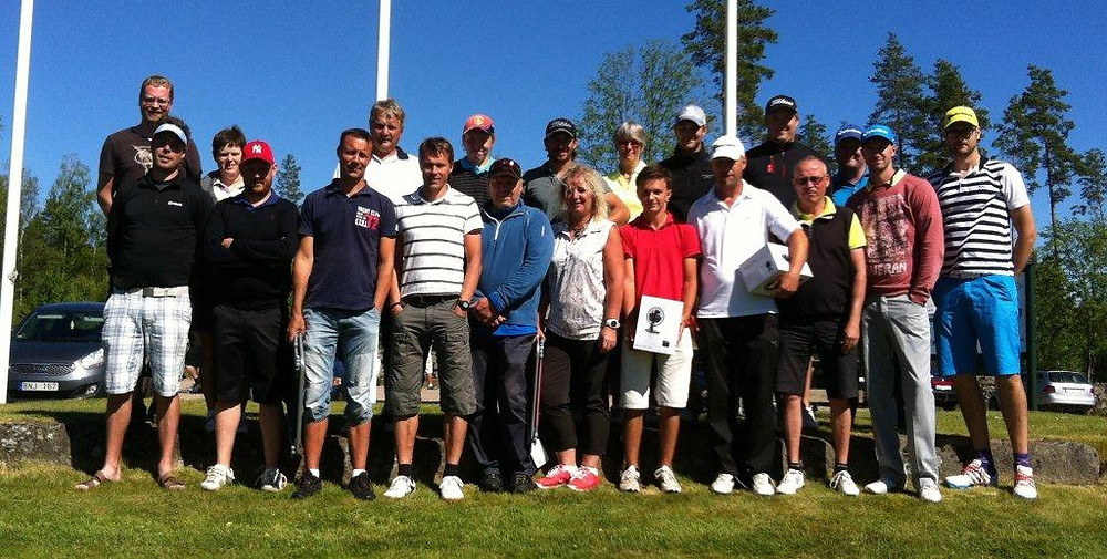 Deltagare på JLI AB arrangerat av Reftele golfklubb