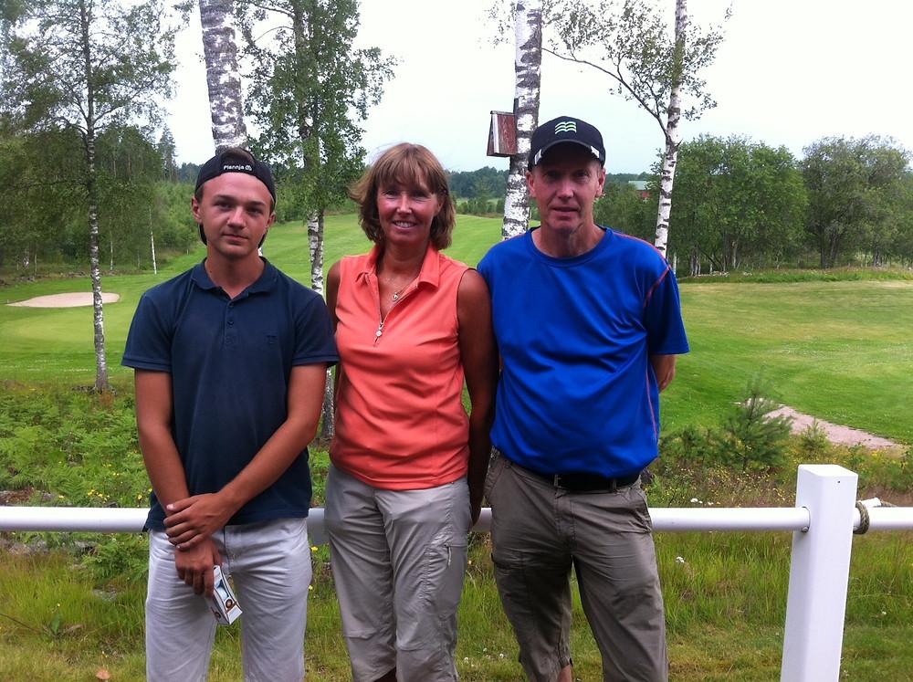 Vinnare på sommargolfen spelad på Källebackens golfbana