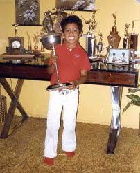 Tiger Woods som barn