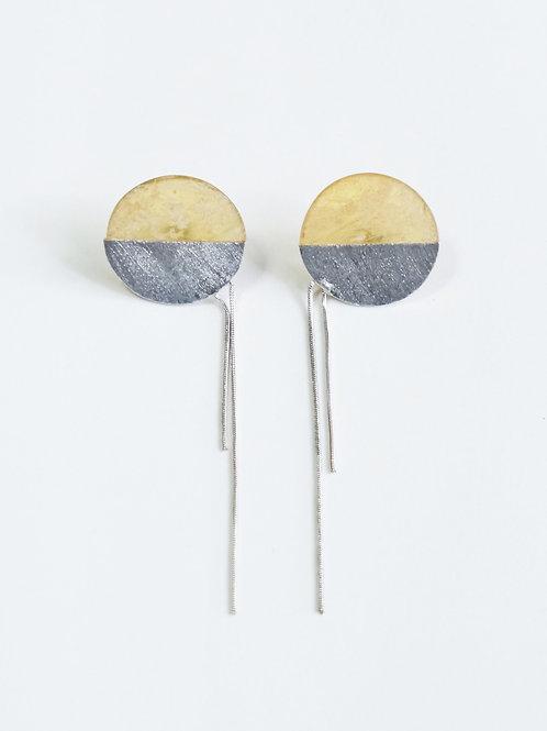 chain pierced earrings⦅べっ甲⦆