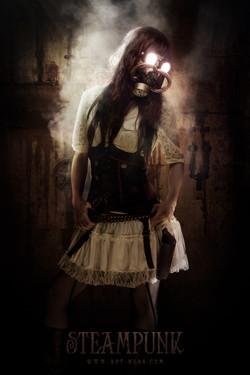 Steampunk girl - Ness studio