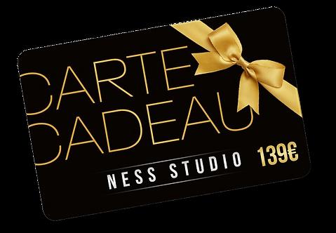 Carte cadeau de 139€