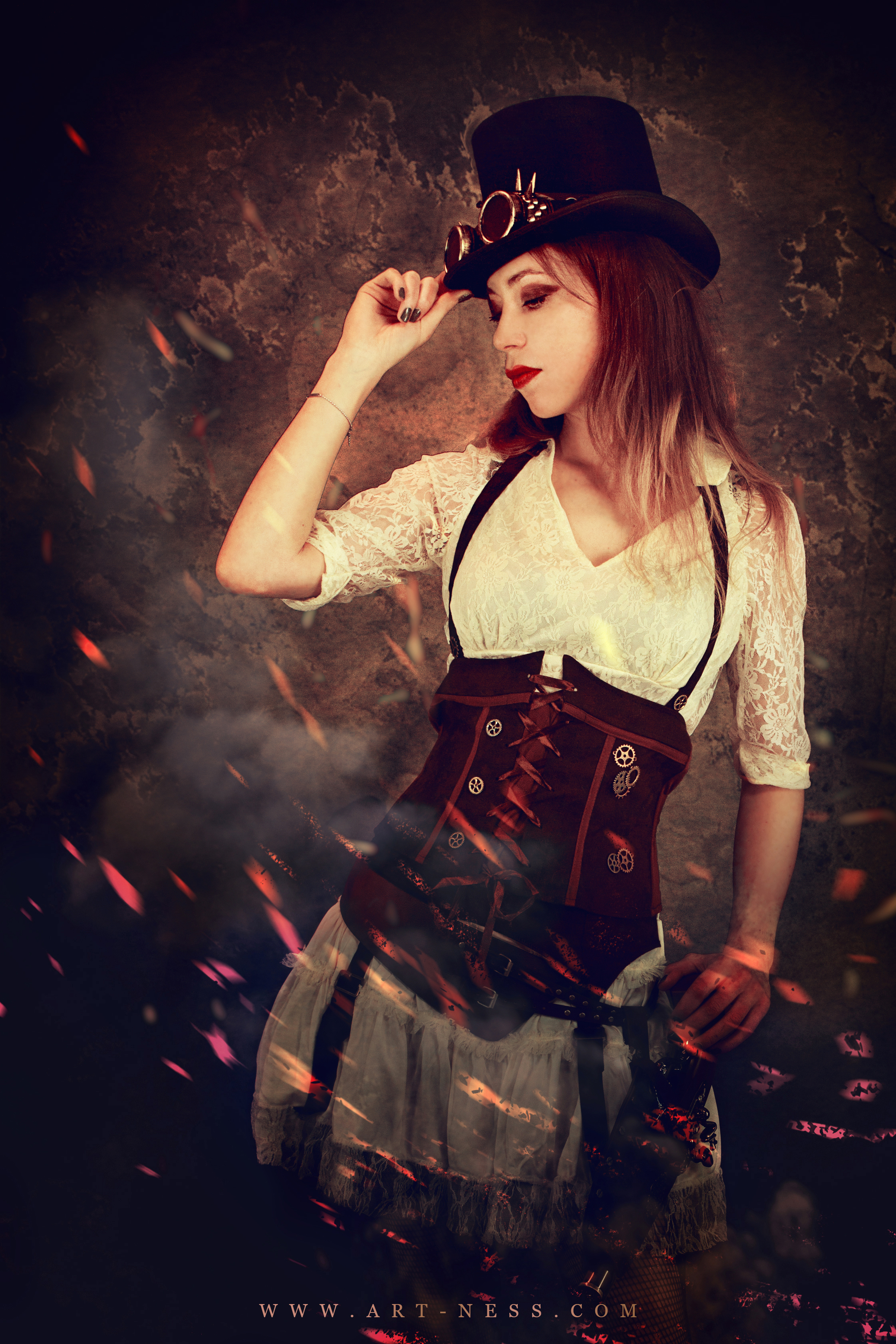 Steampunk girl - Ness studio