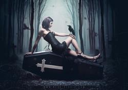 Goth coffin - Ness studio