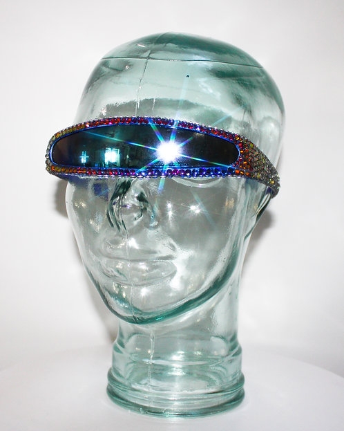 Color Changing Rhinestone Volcano Sunglasses