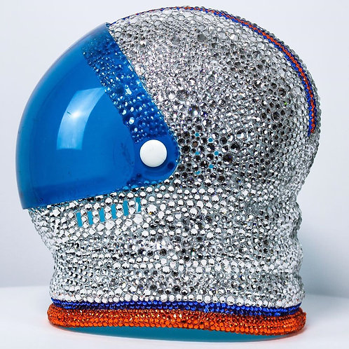 Rhinestoned Astronaut Helmet