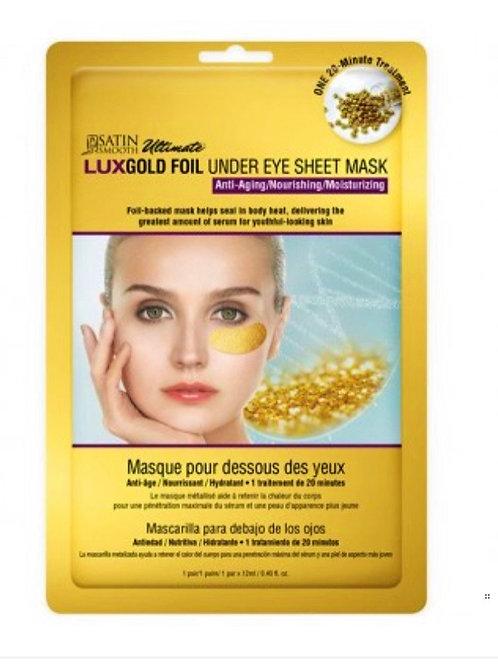 LUX Gold Foil under eye sheet mask