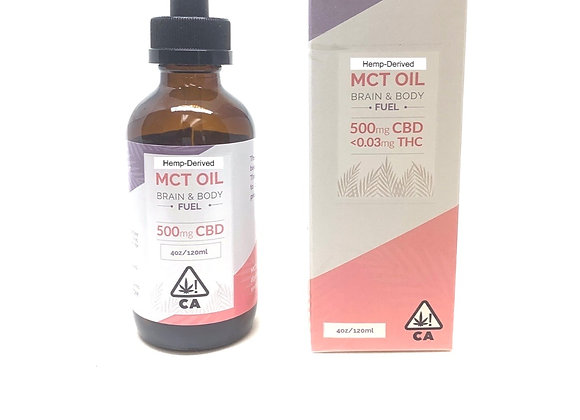 Infused MCT Oil