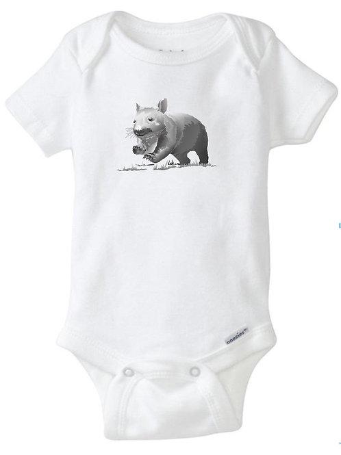 Woo-Up Wombat Onesie