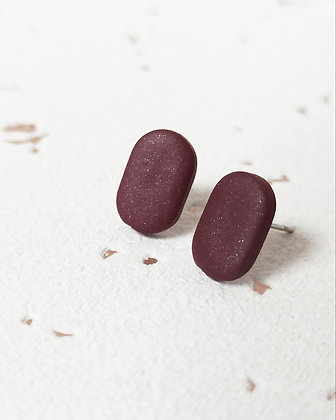 Puces Rouge Bordeaux