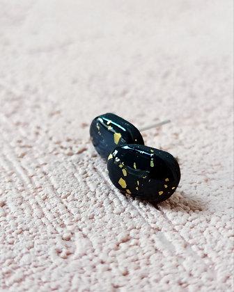 Mini Puces Noires Dorées