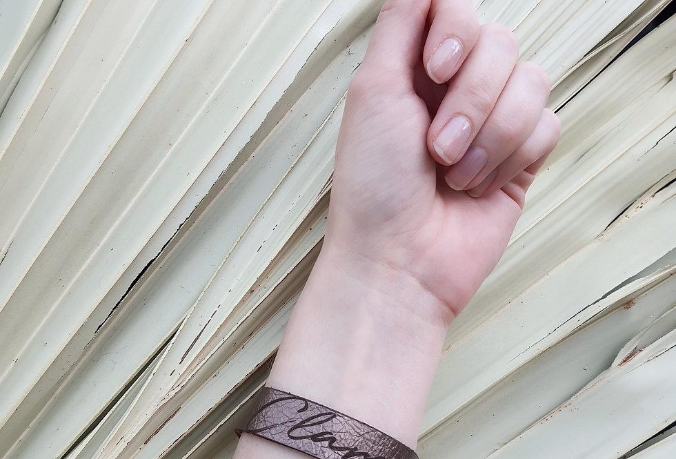 Armband // PERSO - Metallic