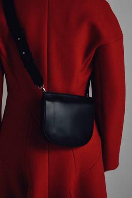 Mantel Tasche Modefotografie