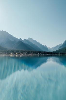 Landschaftsfotografie Hotelfotografie See Alpen