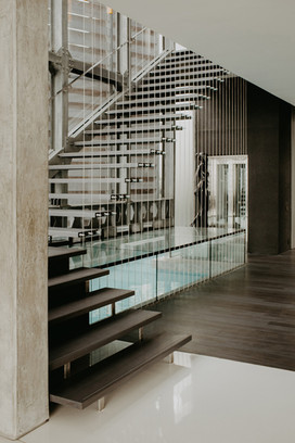 Interior Fotoproduktion Treppenhaus