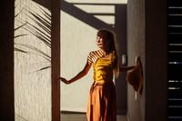 Mädchen in der Sonne Katalogshooting