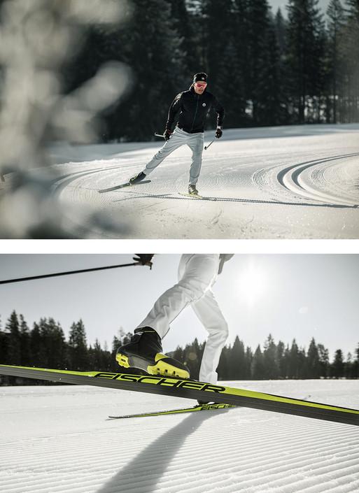 Ski Wintersport Fotoproduktion Fotograf Helge Röske