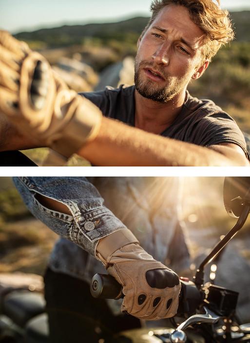 Fotoproduktion Fotograf Helge Röske Lifestyle Motorrad