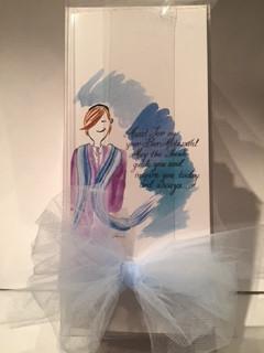 Bar Mitzvah Cards - 10 in a box, 5 boy, 5 girls $30 plus shipping