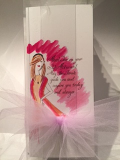 Bat Mitzvah Cards- 10 in a box, 5 boy, 5 girls $30 plus shipping
