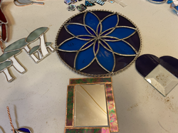 Stained glass cutting