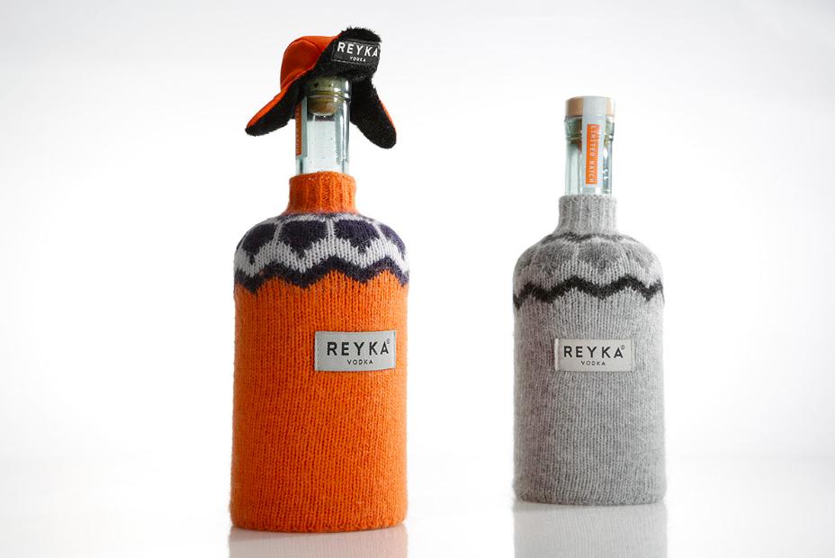 Reyka Bottles With Mini Clothes