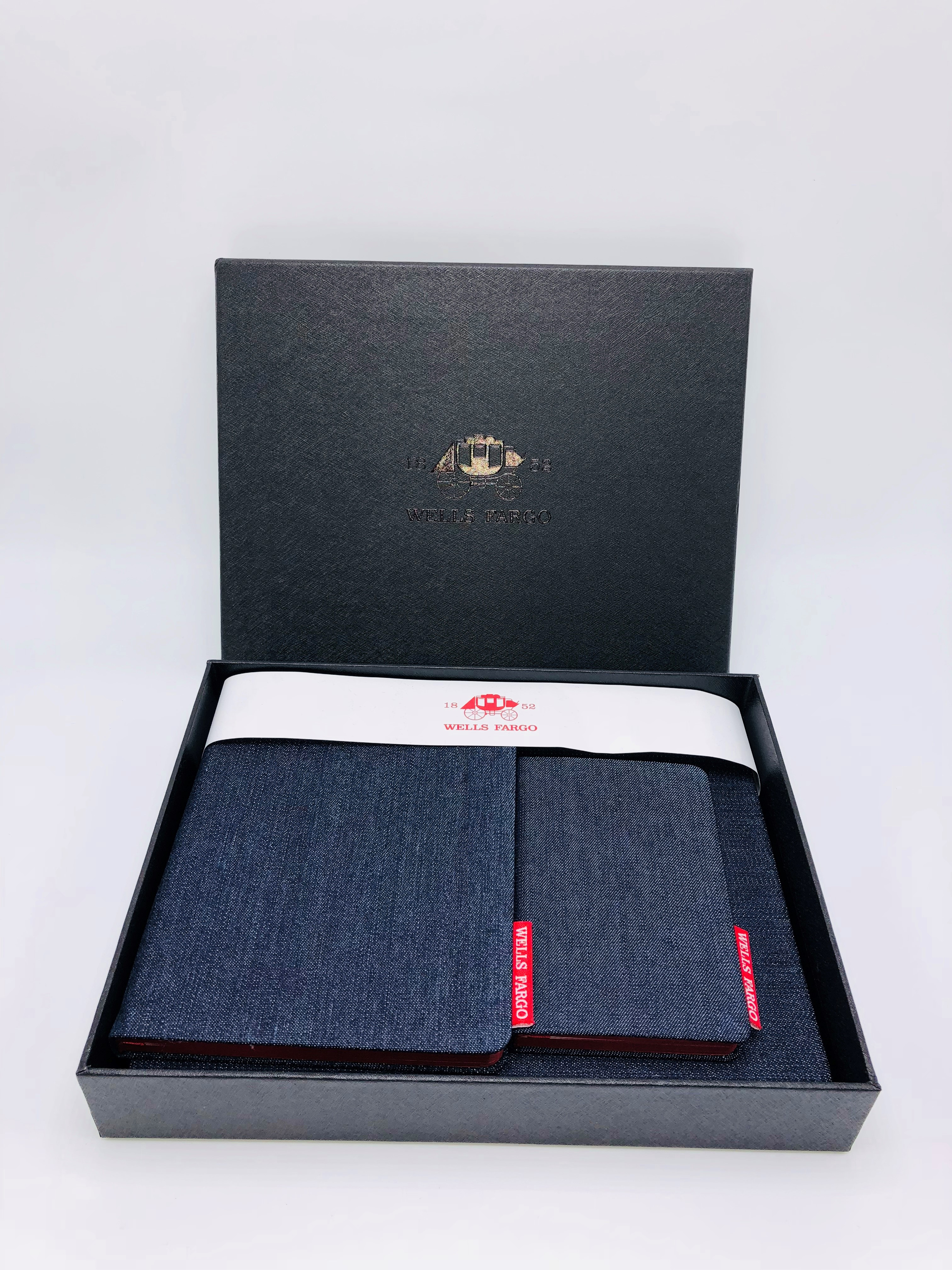 Denim Notebook Set + Gift Box