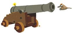 Å skyte spurv med kanon