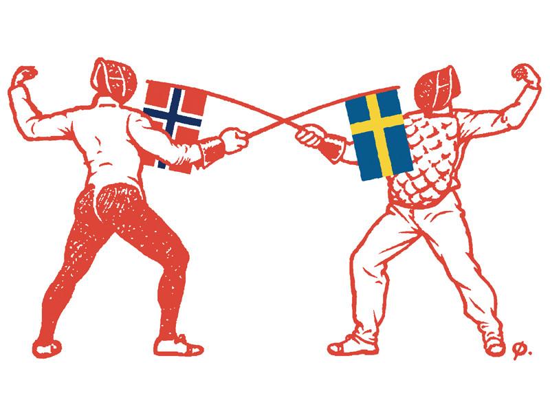 Norge vs. Sverige