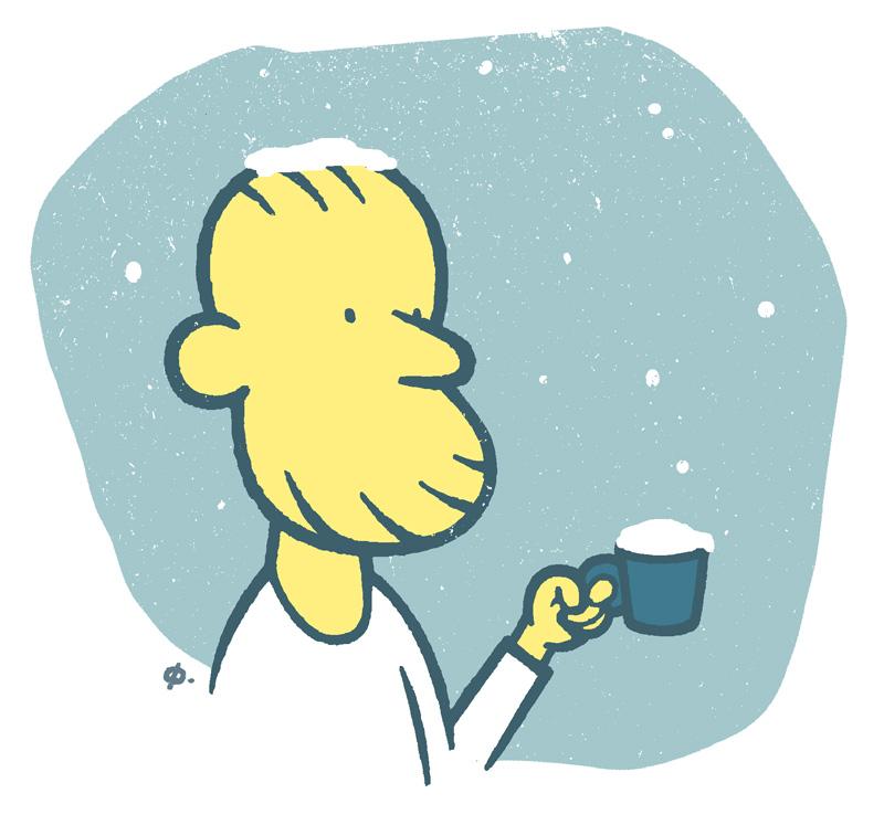 Kald kaffe