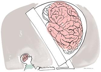 PC vs hjerne