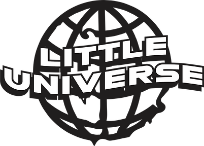 little universe new globe logo black 202