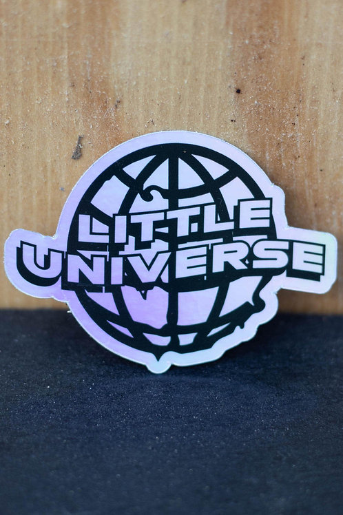 Little Universe Globe Sticker (Regular and Holographic)