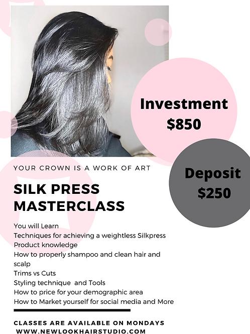 Silkpress Master class