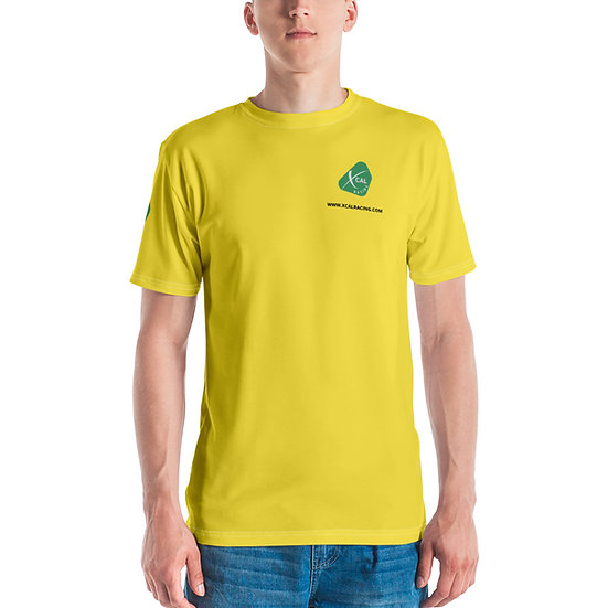 "Always Under Yellow XCAL Racing Logo ""3-Sided"" T-shirt"