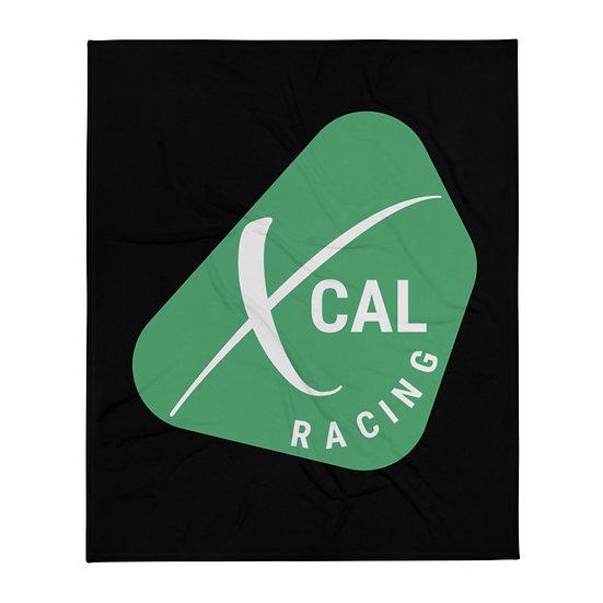XCAL Racing Throw Blanket