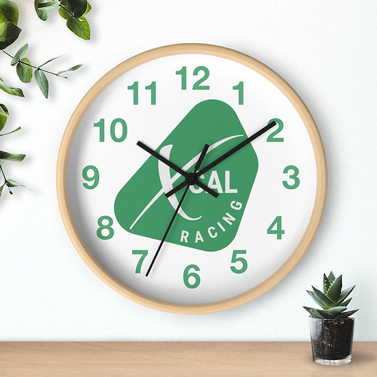 XCAL Racing Wall clock