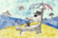 un lupo da spiaggia.jpg