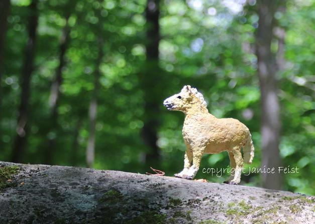 One Proud Pony Palomino $45