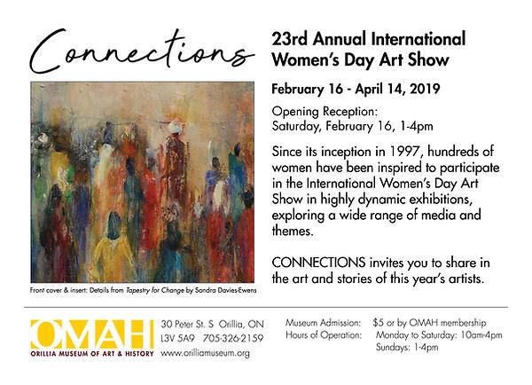 23rd Annual International Womens Day Art
