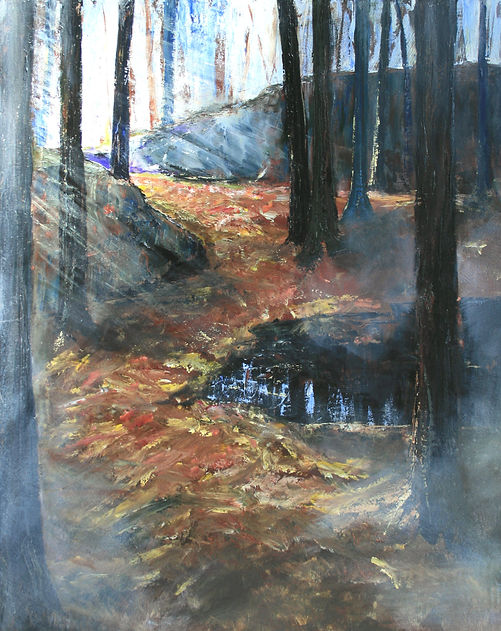 Misty Morning - Muskoka Woodlands, 30x24