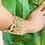 Thumbnail: Avalon Gold Lace Cuff