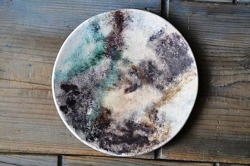 """Cloudy Sky 9"""" Dinner Plate"""