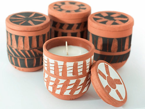 Chios Candle, Mandarin or Orange Blossom Scent