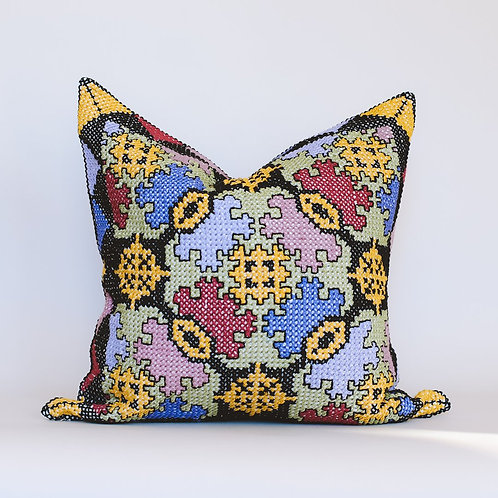 Nysa Embroidered Cushion