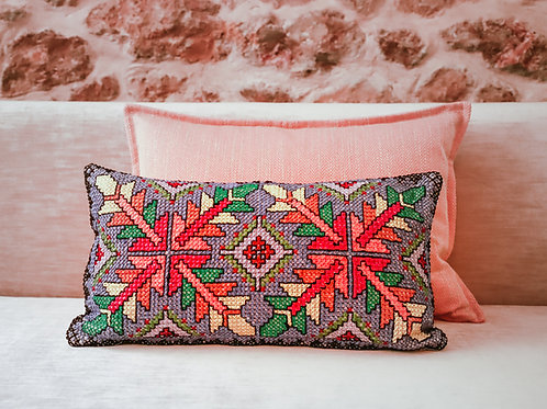 Daphne Embroidered Cushion