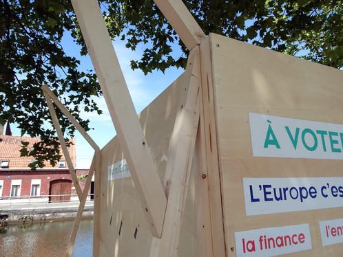 Stand Artivism . Installation interactive