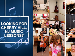 Looking for Cherry Hill, NJ Music Lessons?