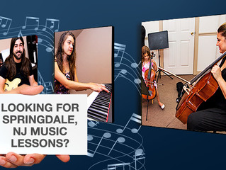 Looking for Springdale, NJ Music Lessons?