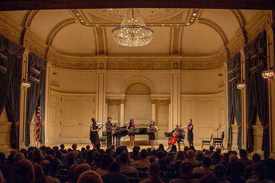 Haddonfield School of Music Student at Carnegie Hall